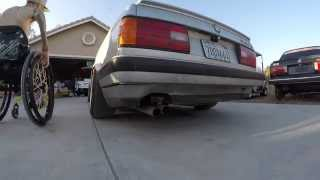 BMW E30 M20 Straight Pipe... Rev Limiter Test Ride