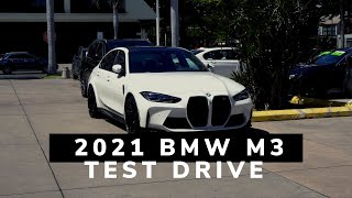 2021 BMW M3 Test Drive