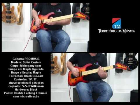 Guitarra Pro  Solist - Território da Música