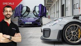 Inghilterra VS Germania | McLaren 720S contro Porsche 911 GT2 RS