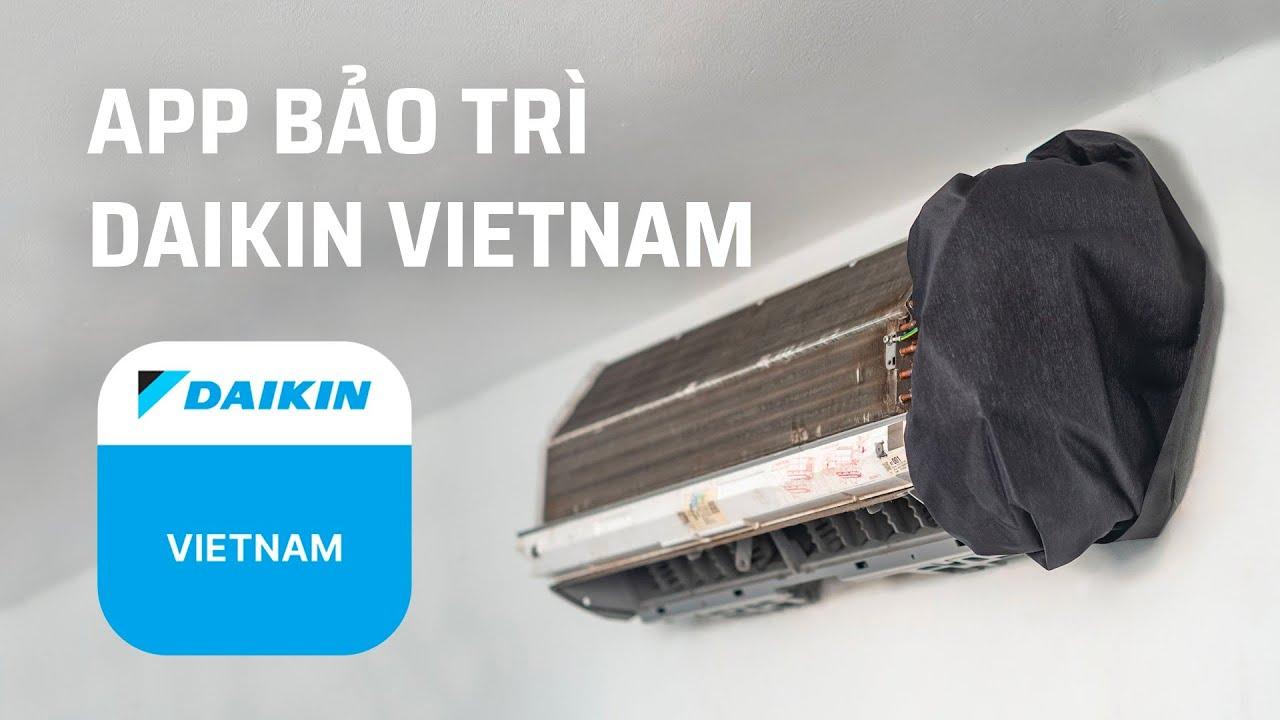 Trải nghiệm App đặt bảo trì máy lạnh chuyên nghiệp từ Daikin