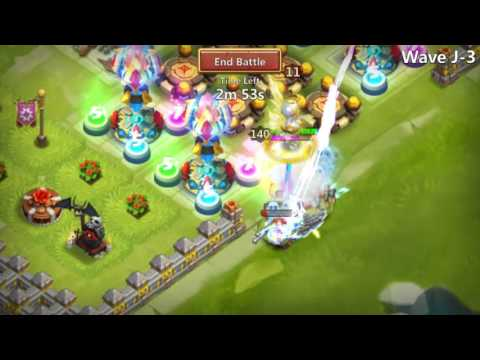 Marauder Solo HBM J (with Some Help)! ~ Castle Clash