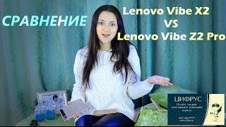 Сравнение Lenovo Vibe Z2 Pro k920 vs Lenovo Vibe X2 /Цифрус/