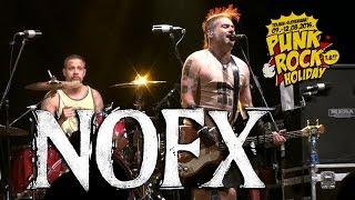 Este es el concierto que NOFX ofreció en el tercer día del festival...