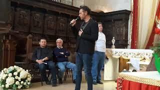 16 10 2017 Devis Manoni canta in Concattedrale di Bisceglie