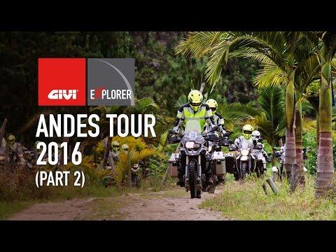 GIVI Explorer - Andes Tour Colombia 2016 - Part2