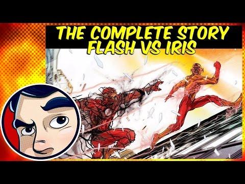 "Flash Vs Iris West ""Speed of Darkness"" - Rebirth Complete Story"
