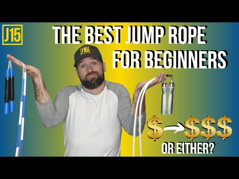 Jump Ropes For Beginners To Help You Learn Faster | The 1 Characteristic Your Rope Must Have!