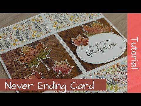 Never Ending Card - Stampin' Up! Demonstrator - YouTube