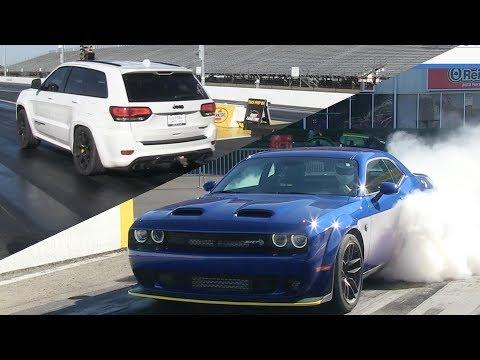 Dodge Challenger Redeye vs Demon - Elevated Garage