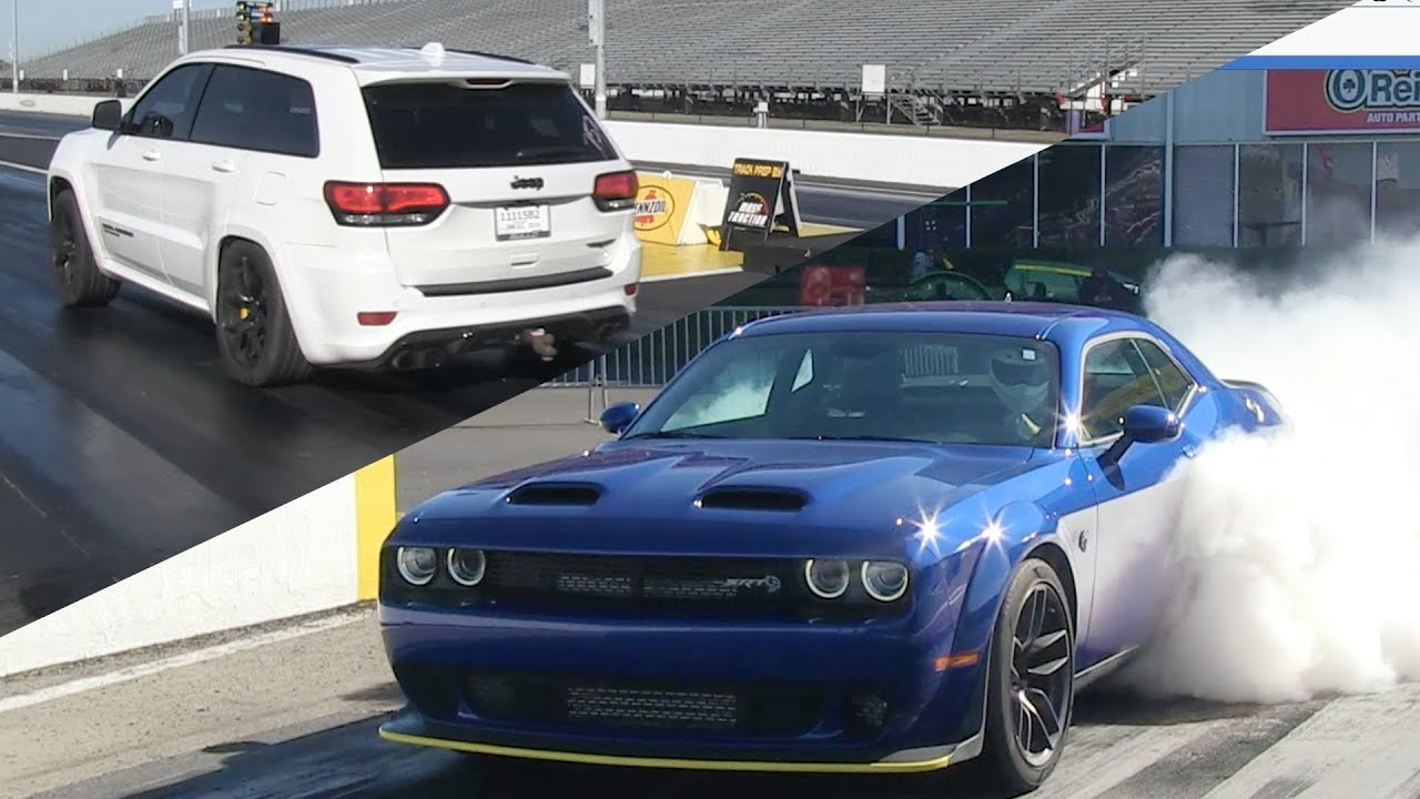 Dodge Demon Drag Races SRT Hellcat Redeye