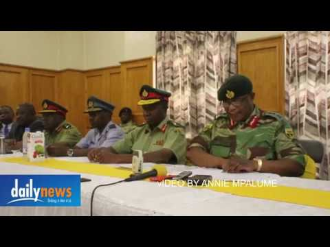 Army will step in says Chiwenga