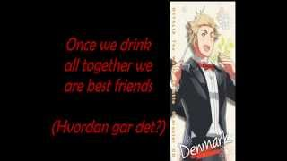 [APH] Let's Enjoy! Let's get excited! Cheers! -Denmark's Character Song (+Eng Lyrics)