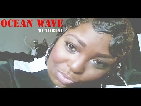 Ocean Wave Tutorial/Finger Wave Technique - YouTube