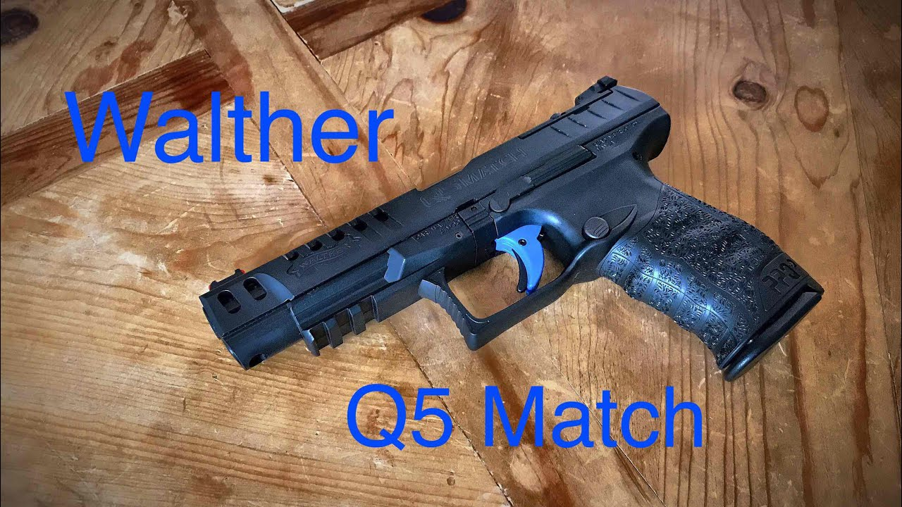 walther ppq q5 match batman s gun youtube