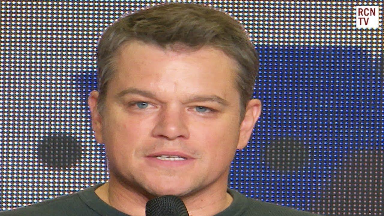 Download Matt Damon Interview Downsizing Premiere