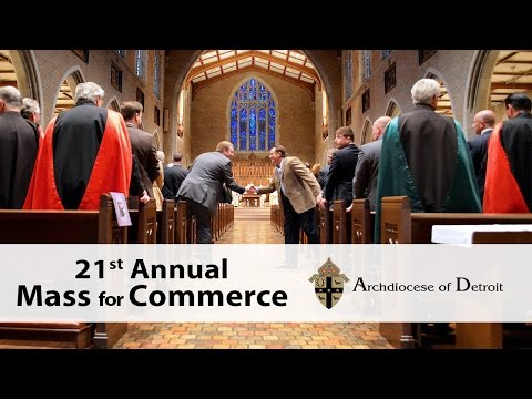 21st Annual Mass for Commerce