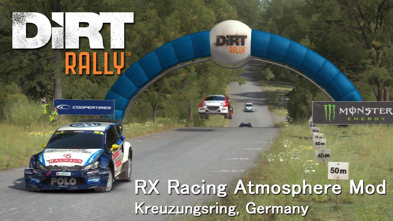 DiRT Rally: RX Racing Atmosphere Mod (+ Replay Camera Mod ...