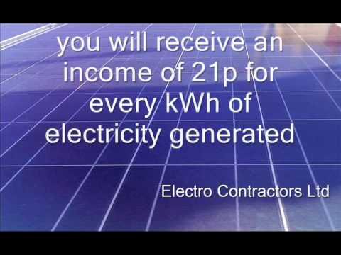 Solar PV - How it works - Electro Contractors Ltd.wmv