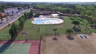 Camping Playa Brava Drone view 1
