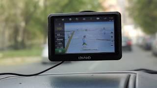 Lexand CD5 HD. Едем по маршруту