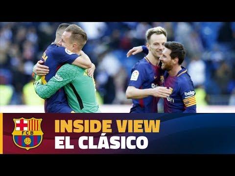 [BEHIND THE SCENES] FC Barcelona's victory in 'El Clásico'