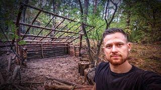 Bushcraft Super Shelter - Survival Camp 2.0 Lager Lagerbau - Deutschland deutsch #004