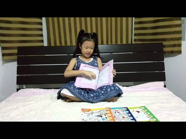 Chitangme reviews the book name's Hidden Picture Puzzle. That's she likes.