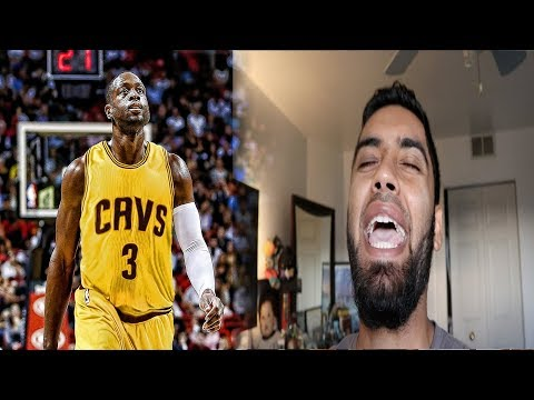 DWYANE WADE SIGNS WITH THE CLEVELAND CAVALIERS REACTION! DERRICK ROSE + LEBRON JAMES + DWYANE WADE!!