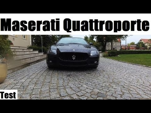 2009 Maserati Quattroporte GTS 4.7 V8 - Test PL