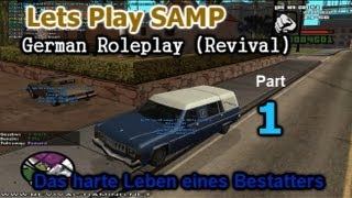 Lets Play SAMP German Roleplay (Revival) - Fortgeschrittener Start - Part 01