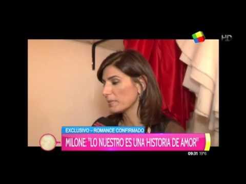 Cecilia Milone contó su verdad sobre el romance con Nito Artaza