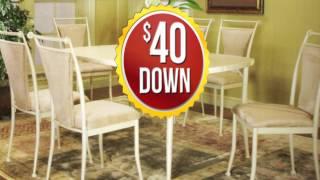 $40 Down No Credit Check Financing