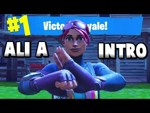 I made a Fortnite montage with Ali As intro music