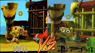 Wii Vs PS4 - Mount Cloudbreak - Skylanders Swap Force