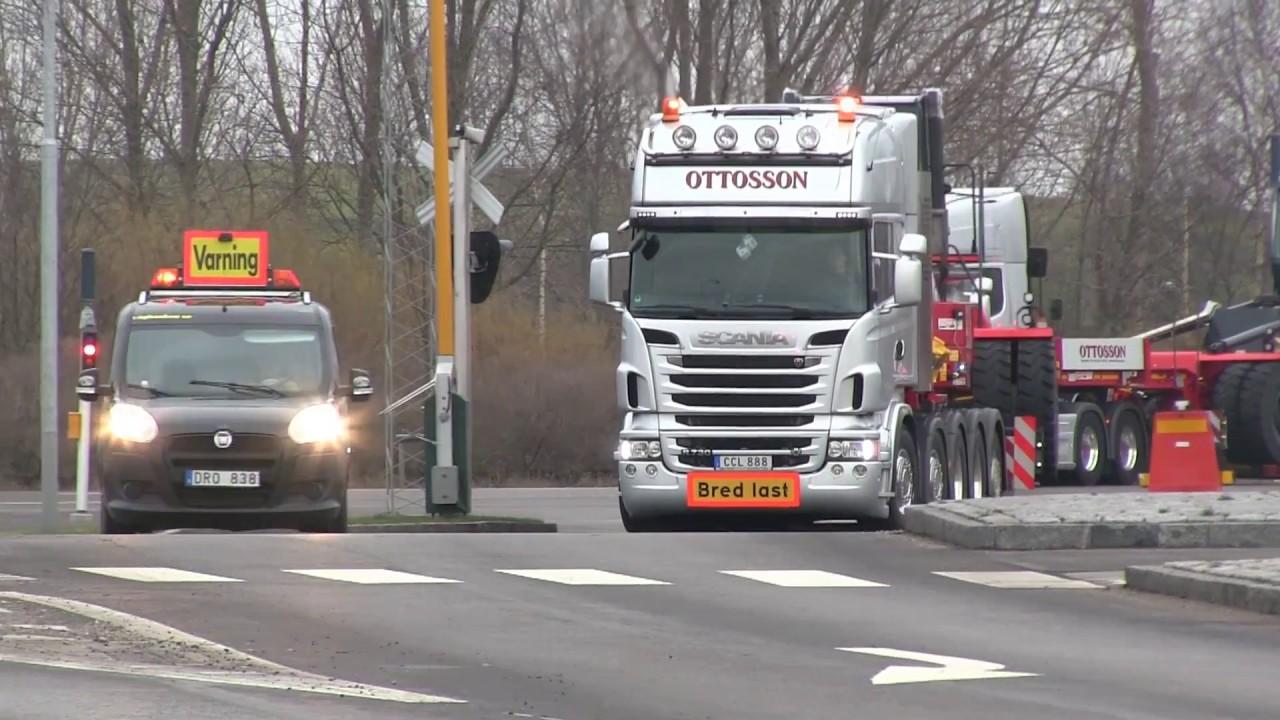 Scania R730, 164L V8 Sound Oversize load