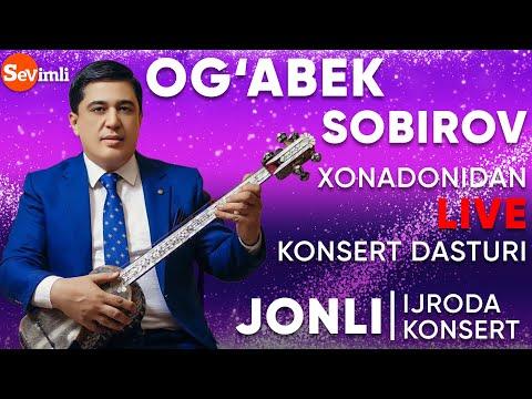 OG'ABEK SOBIROV Xonadonidan LIVE Koncert 2020