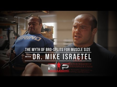 The Myth of Bro-Splits for Muscle Size with Dr. Mike Israetel | JTSstrength.com