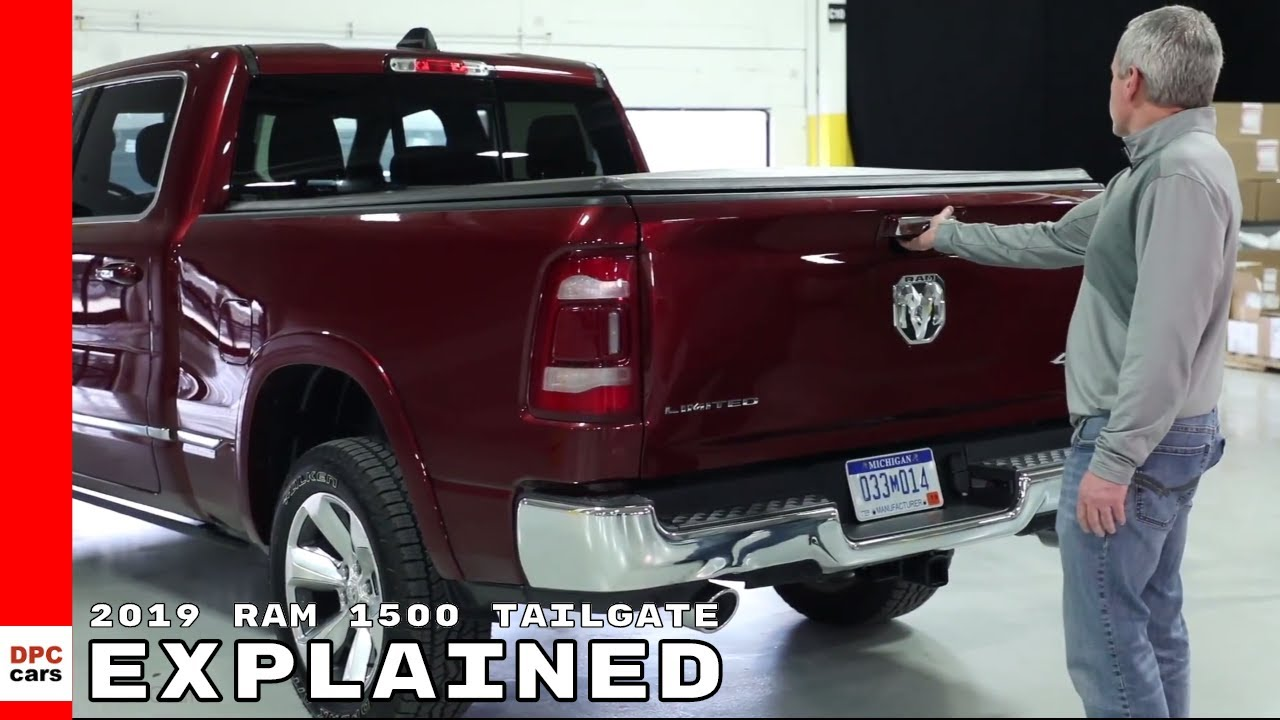 2019 Ram 1500 Tailgate Features Explained Youtube