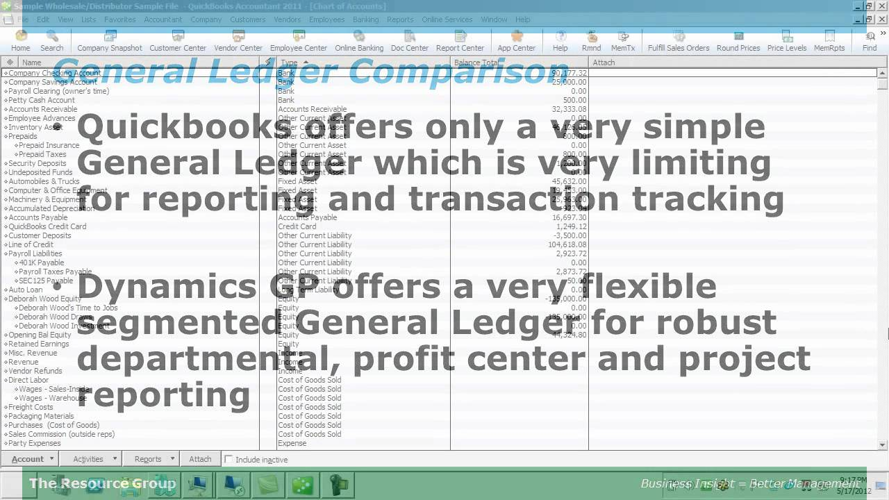 how to add ledger in quickbooks