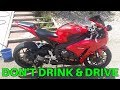 Morning Talk: Don't Drink and Drive and Motorcycles
