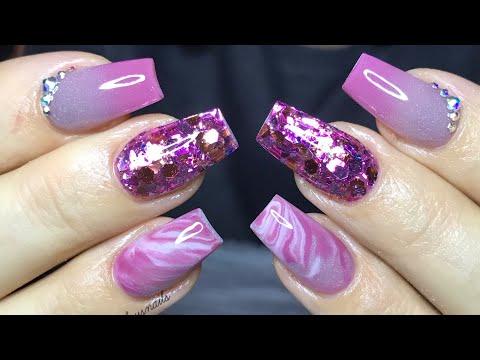 Acrylic nail tutorial