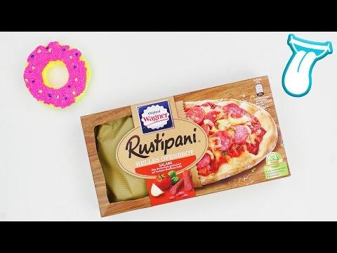 TIEFKÜHL PIZZA TEST mit der WAGNER RUSTIPANI | Junk food taste test mit YOSHI | IN ALLER MUNDE