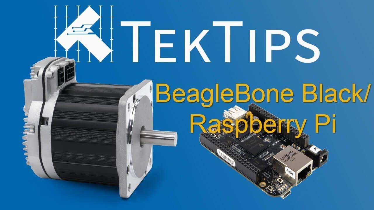 Motion Control with BeagleBone Black or Raspberry Pi and ClearPath-SC Servos