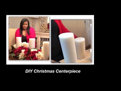 DIY Christmas Centerpiece 2018/Floral Centerpiece Holiday series