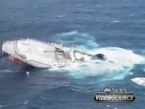 The Sinking Of The Cruise Ship Oceanos YouTube - Sinking cruise ship oceanos