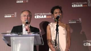 Zita Hanrot Cesar 2016 Meilleur Espoir Féminin pour le film Fatima