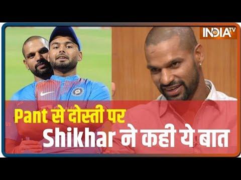 Aap Ki Adalat: Shikhar Dhawan backs Rishabh Pant to play long for India