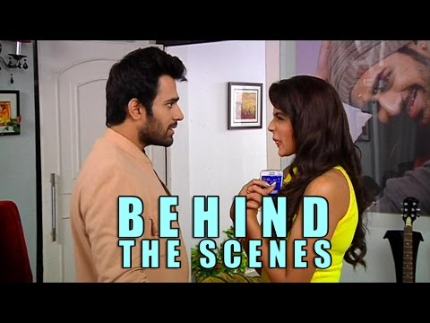 Behind the scenes  From the sets of Badtameez Dil