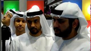 Dubai deputy ruler Sheikh Maktoum eyes Smart City ideas at Gitex Technology Week